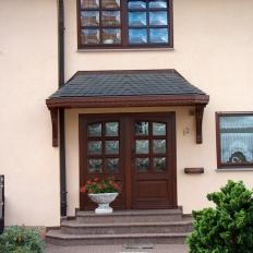 Vordächer sind dem individuellen Stil anpassbar