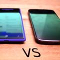 HTC WP 8X versus LG Nexus 4