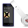 HTC Windows Phone 8X mit Beats Kopfhörer