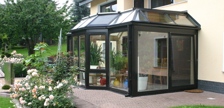 Holz-Aluminium-Wintergarten